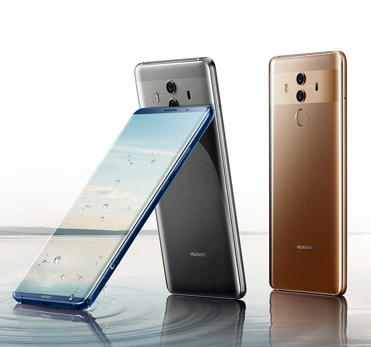 57f127a7db6e The HUAWEI Mate 10 Pro features a strong and robust glass casing both front  and back