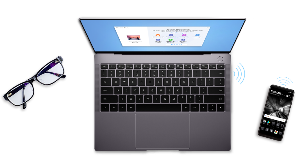 HUAWEI MateBook X Pro PC manager