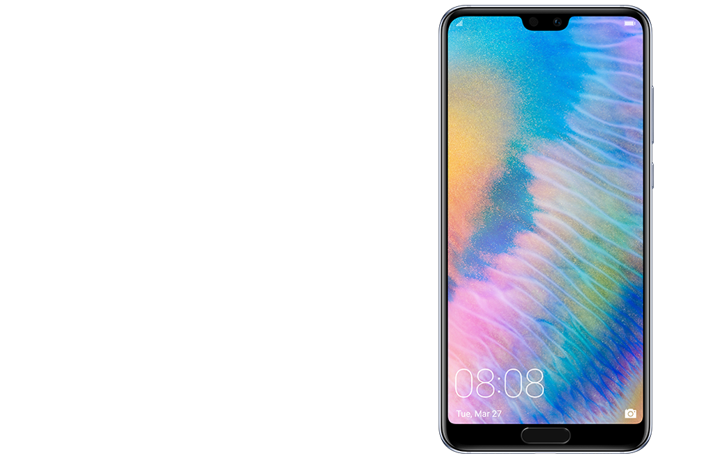 Huawei P20 Pro fullview display ultra-thin bezels