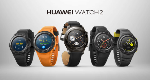 THE COMPLETE SMART FITNESS WATCH ARRIVES WITH HUAWEI WATCH 2