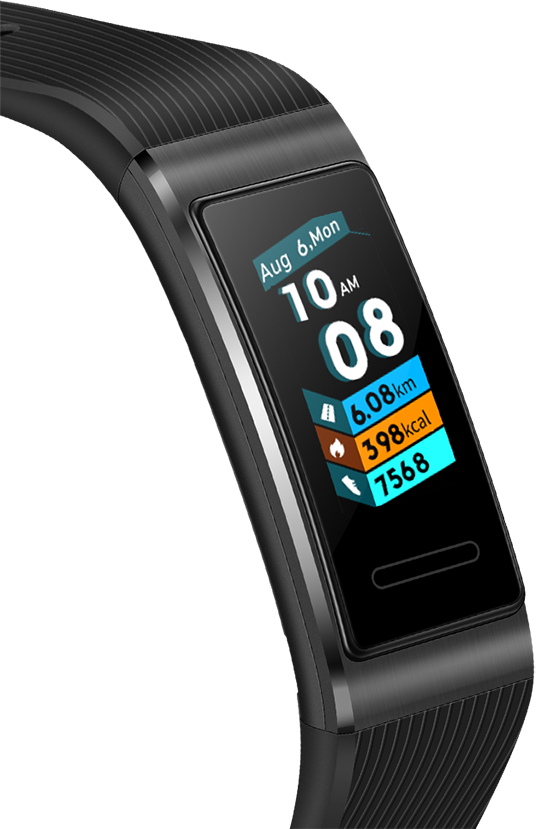 HUAWEI Band 3 Pro AMOLED touchscreen
