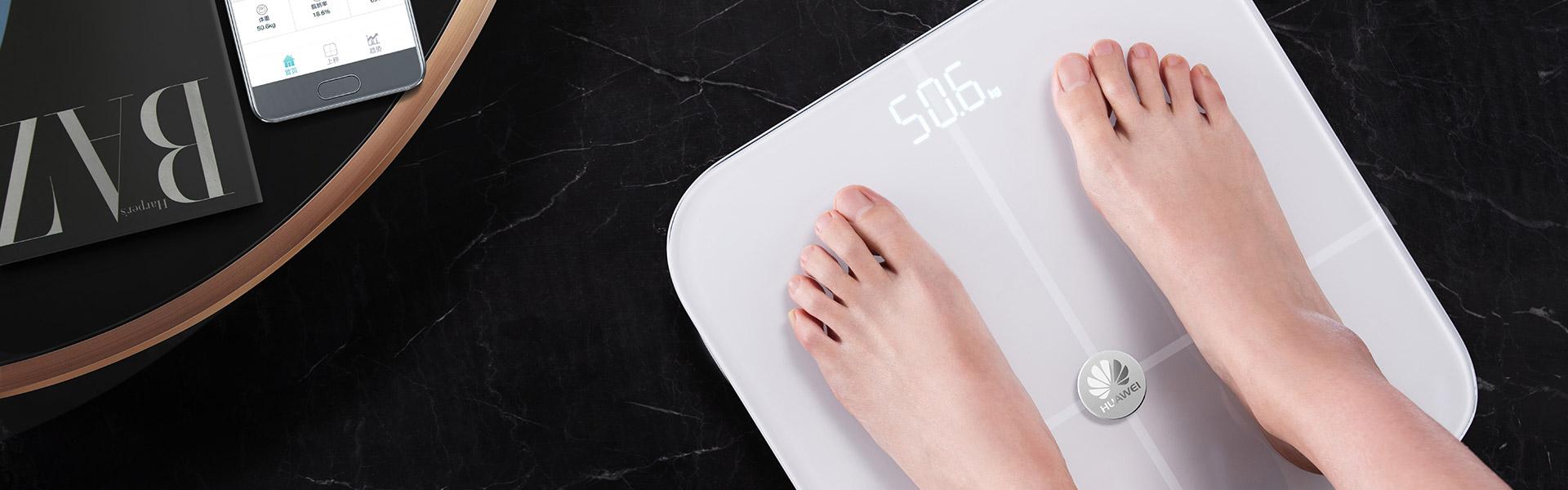 Podgląd masy ciała i zawartości tkanki tłuszczowej w trybie offline