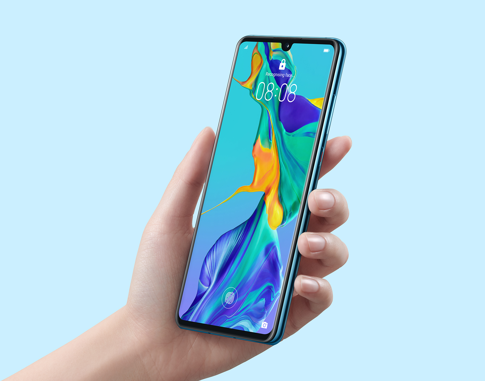 huawei p30 in-screen fingerprint