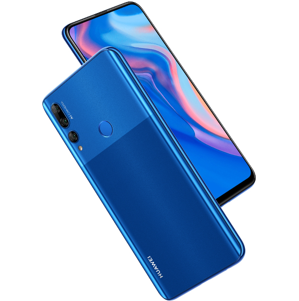 huawei y9 prime 2019 back design color blue