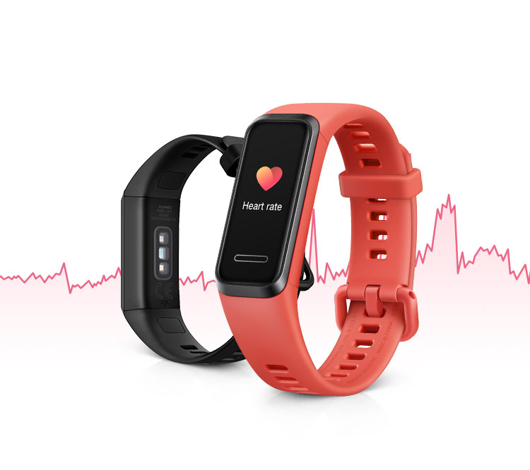 HUAWEI Band 4 TruSeen™3.5 Heart Rate Monitoring