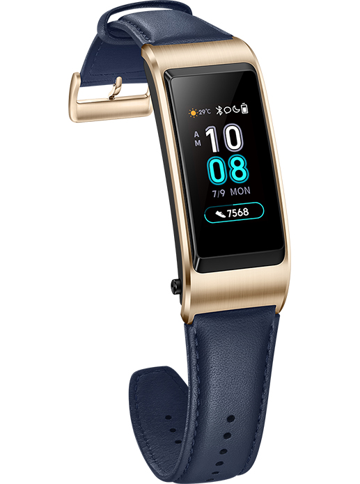 HUAWEI Talkband B5 leather strap blue