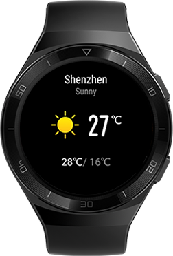 HUAWEI WATCH GT 2e Life assistant black