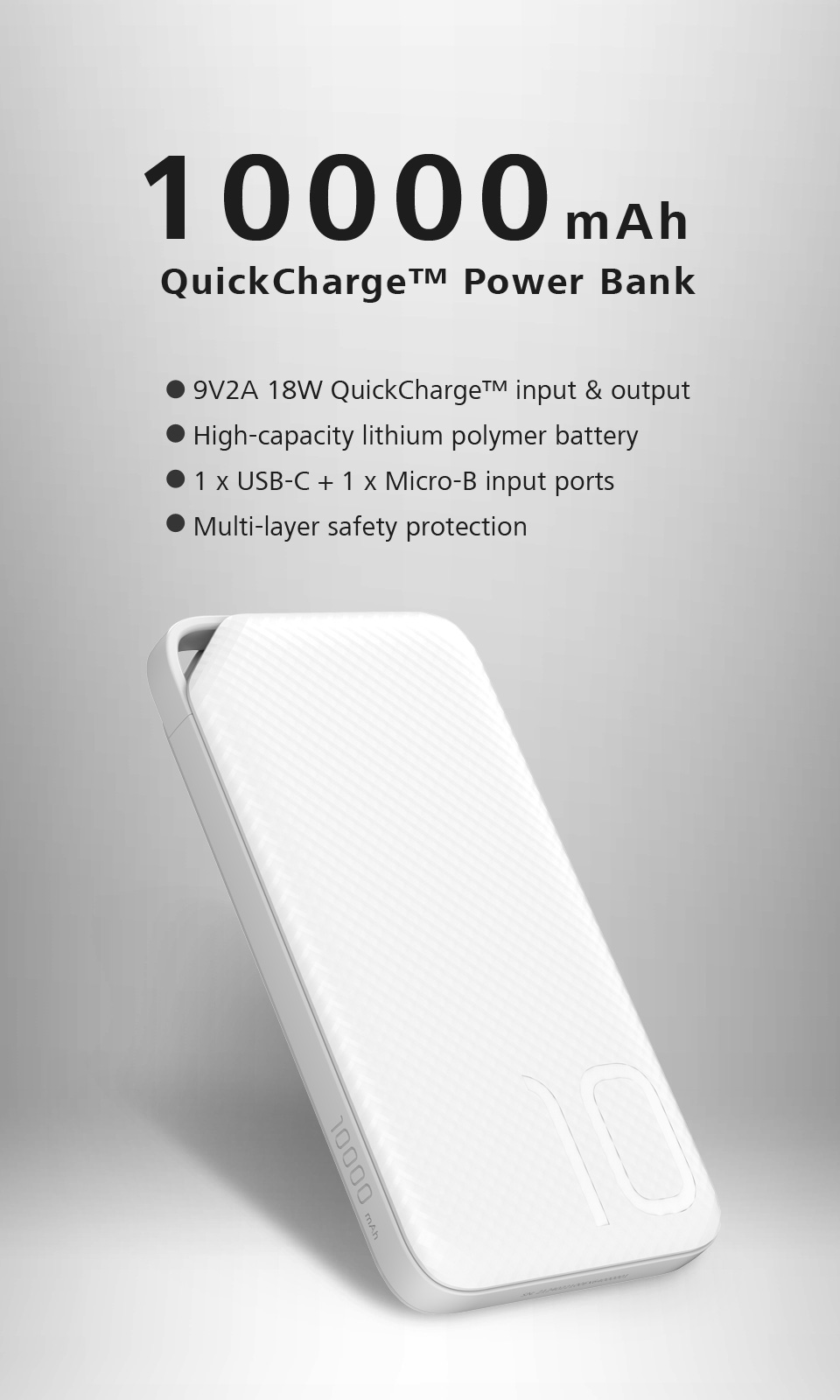 HUAWEI 10000 mAh QuickCharge™ Power Bank