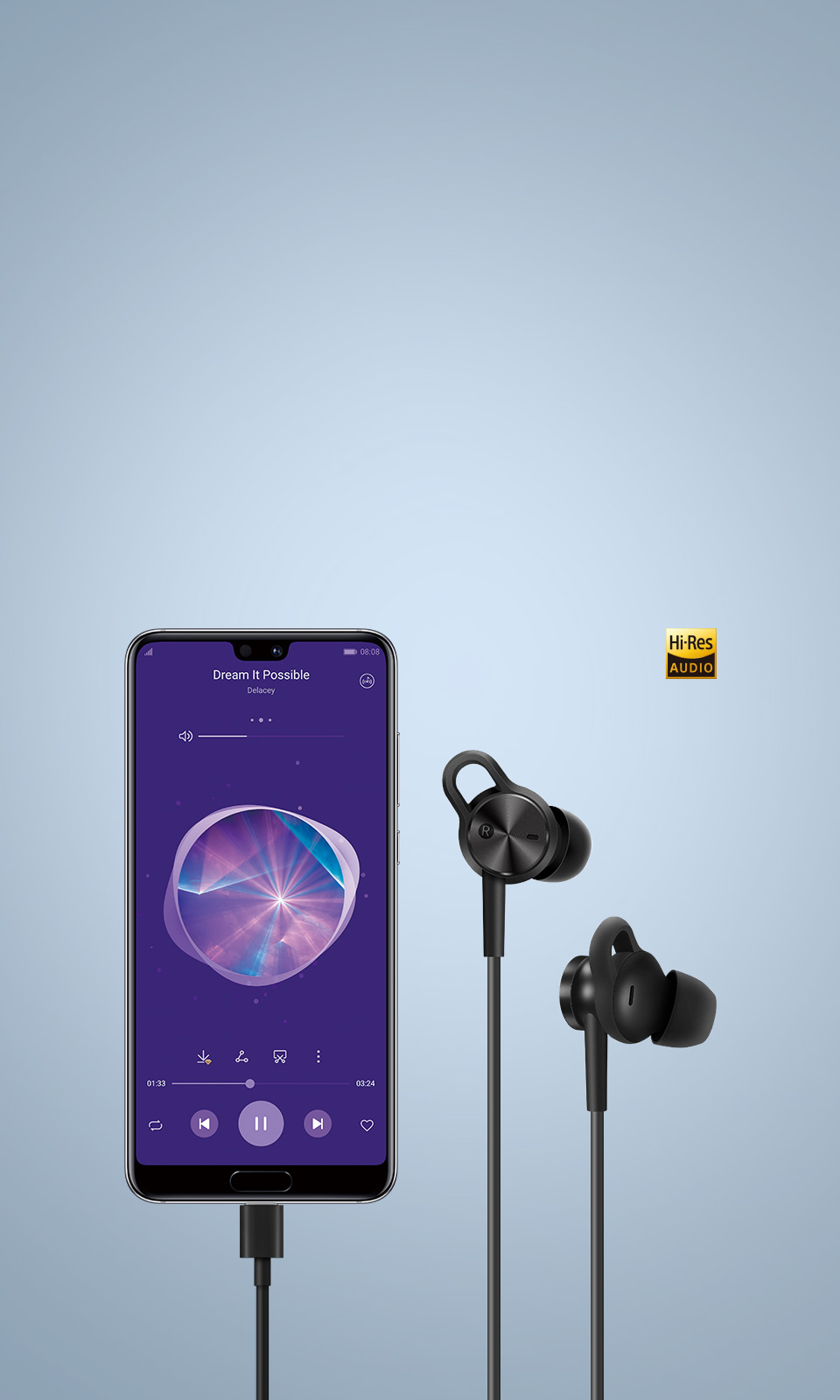 Enjoy Hi-Res™ Audio