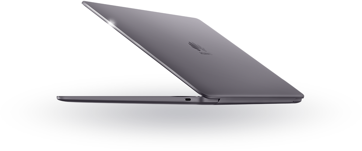 Elegant Huawei MateBook Space gray