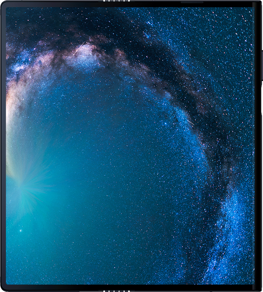 Huawei Mate X full screen display