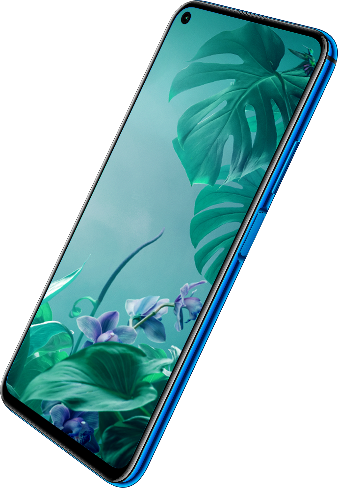 HUAWEI nova 5T screen live on the edge