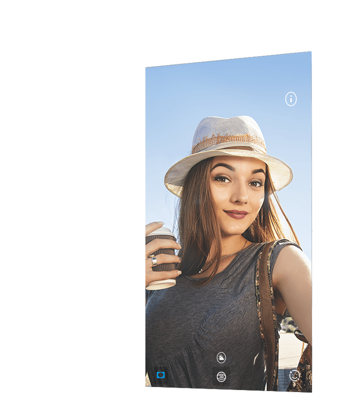 Huawei nova 3 showing girls in different scenes