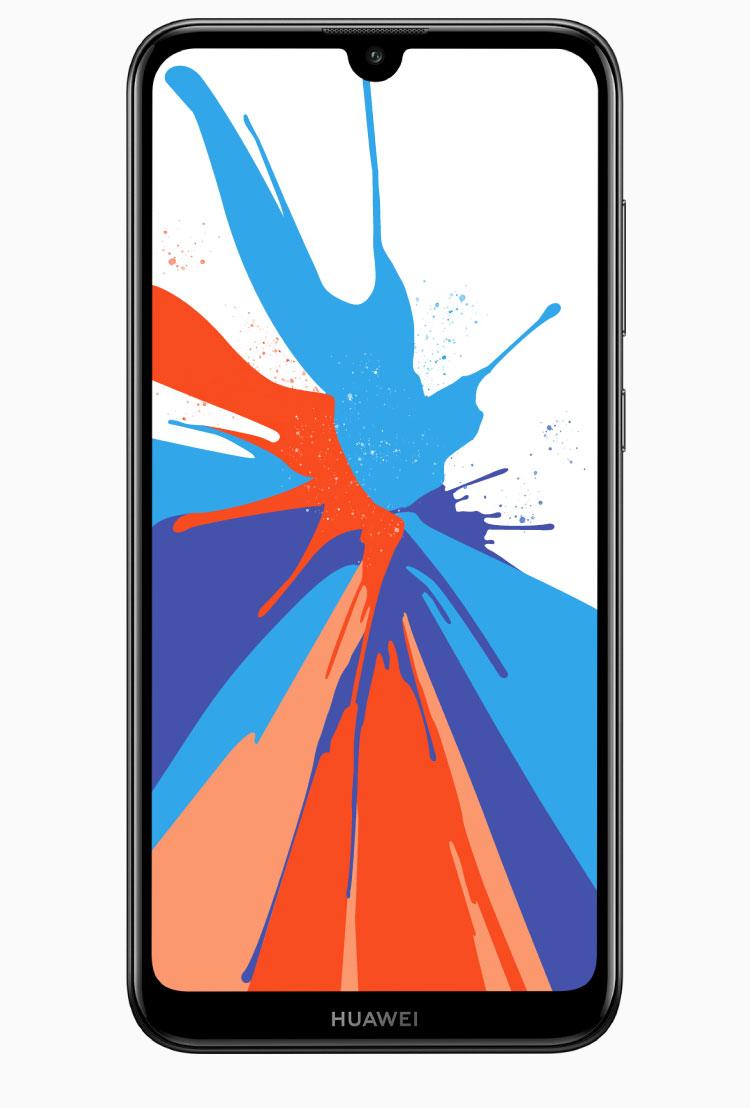HUAWEI Y7 Prime 2019, big screen, big battery, dual AI