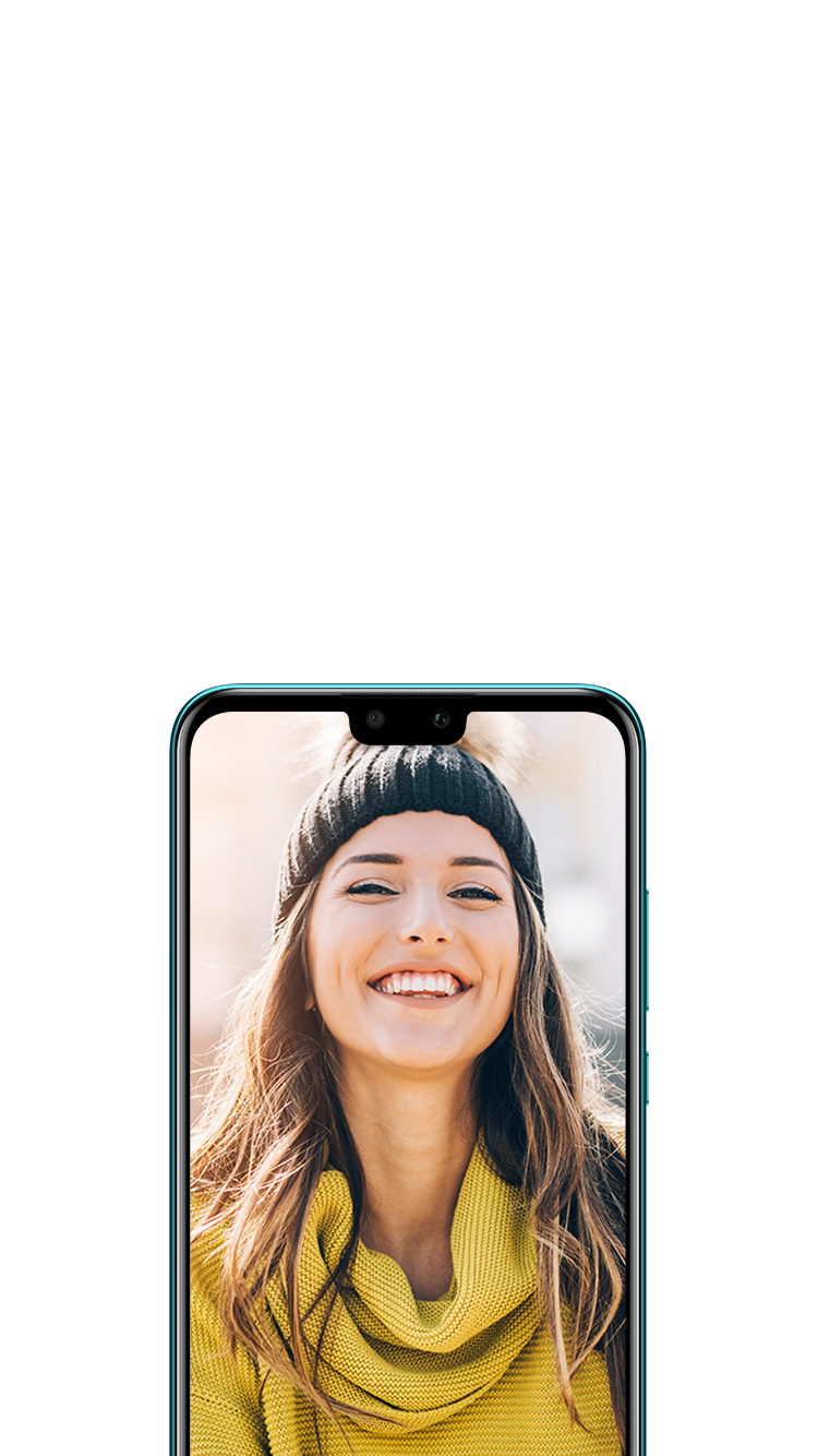 HUAWEI Y9 2019 Front Camera 3D Lighting