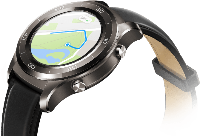 huawei watch 2 classic. coaching and gps tracking huawei watch 2 classic