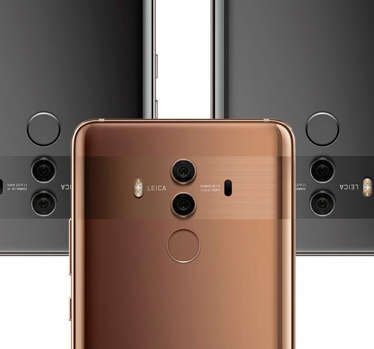 HUAWEI Mate 10 Pro ergonomic curved glass