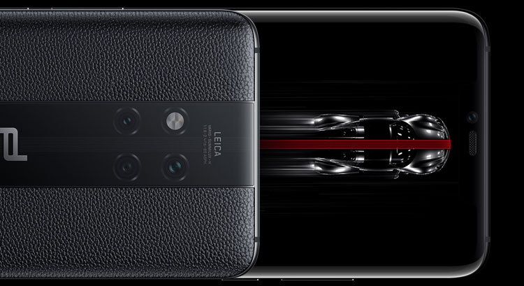 PORSCHE DESIGN HUAWEI Mate 20 RS back and front
