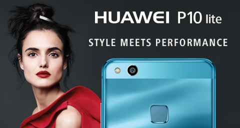 HUAWEI P10 LITE NOW AVAILABLE IN SOUTH AFRICA