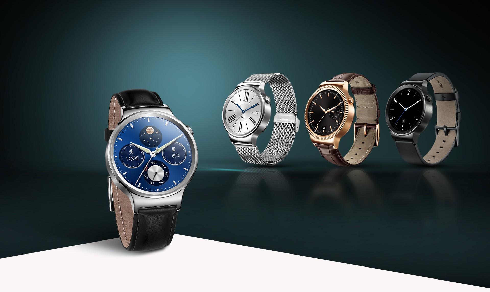 HUAWEI Leather Strap Smartwatch   Wearables