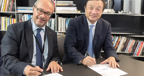 HUAWEI AND LEICA COMBINE TO ESTABLISH NEW RESEARCH AND INNOVATION CENTER