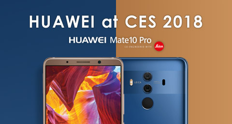 Welcome to the New Era of Connectivity: Huawei to Launch Mate 10 Pro in February in the U.S., World's First Hybrid Smart Home Network Solution