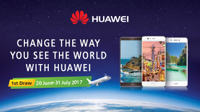 CHANGE THE WAY YOU SEE THE WORLD WITH HUAWEI