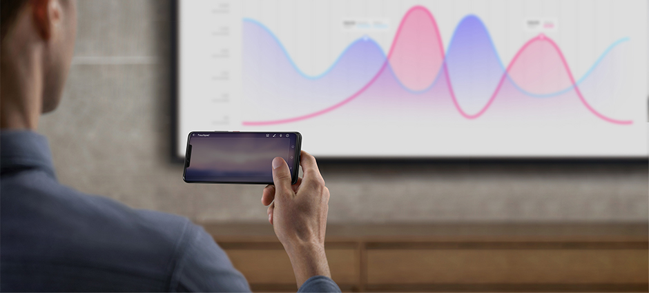 HUAWEI Mate 20 Pro emui projector