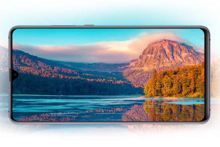 Huawei mate20 x large screen bg mob
