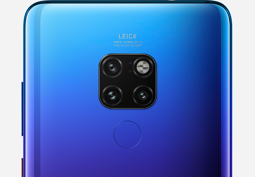 HUAWEI Mate 20 triple camera