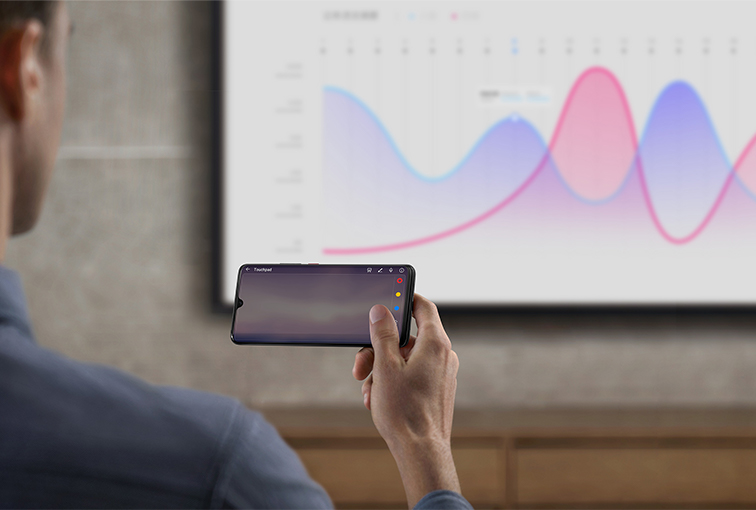 HUAWEI Mate 20 projector