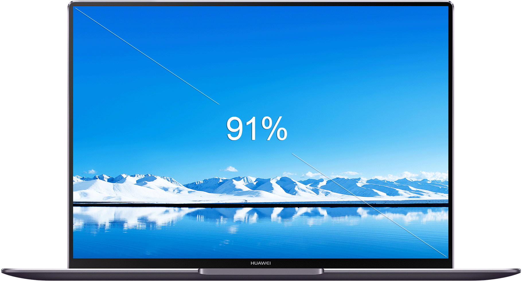 HUAWEI MateBook X Pro fullview display