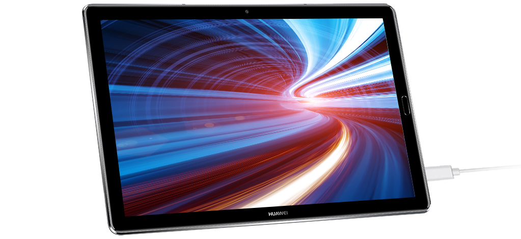 Huawei MediaPad M5 Pro fast-charging
