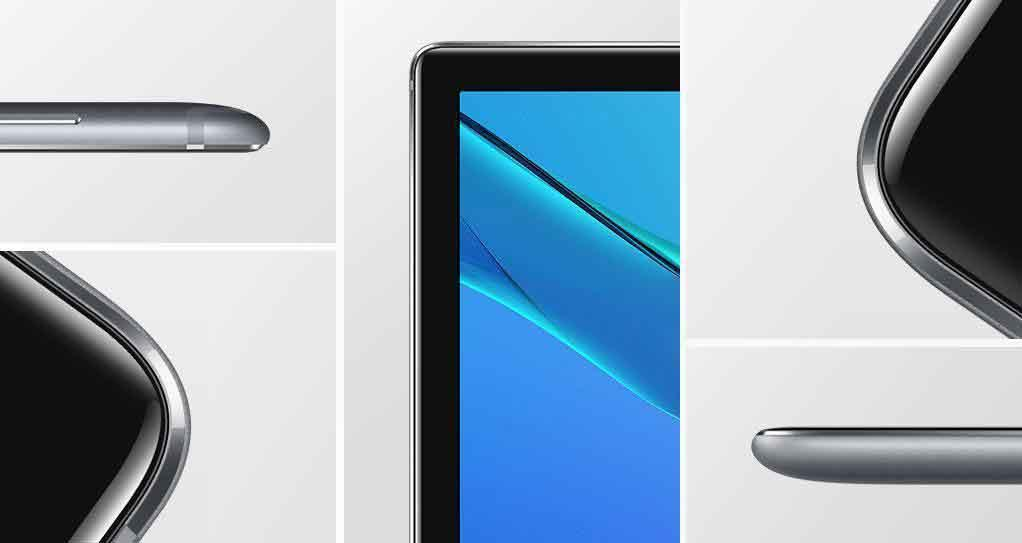 Huawei MediaPad M5 2.5d شیشه ای