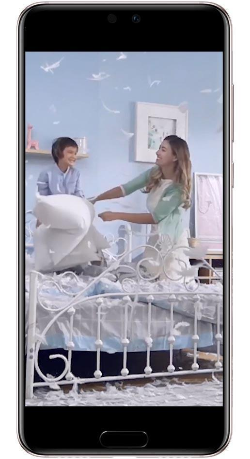 Huawei P20 Pro super slow motion