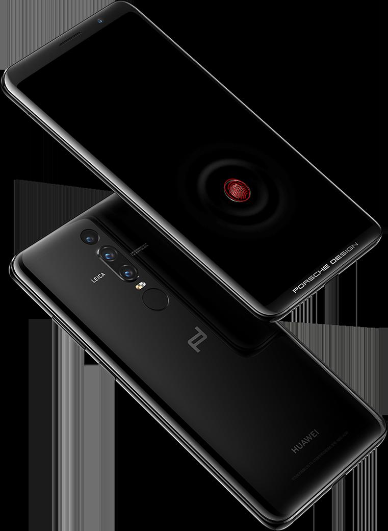 طراحی پورشه Huawei Mate RS نشان دهنده شناسایی اثر انگشت جلو و عقب است