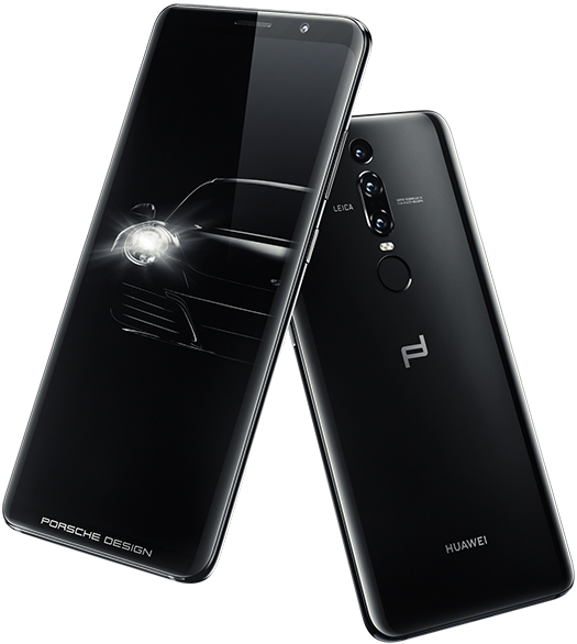 Porsche Design HUAWEI Mate RS front and rear