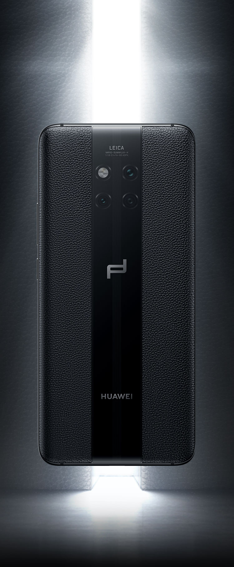 PORSCHE DESIGN HUAWEI Mate 20 RS back symmetric design