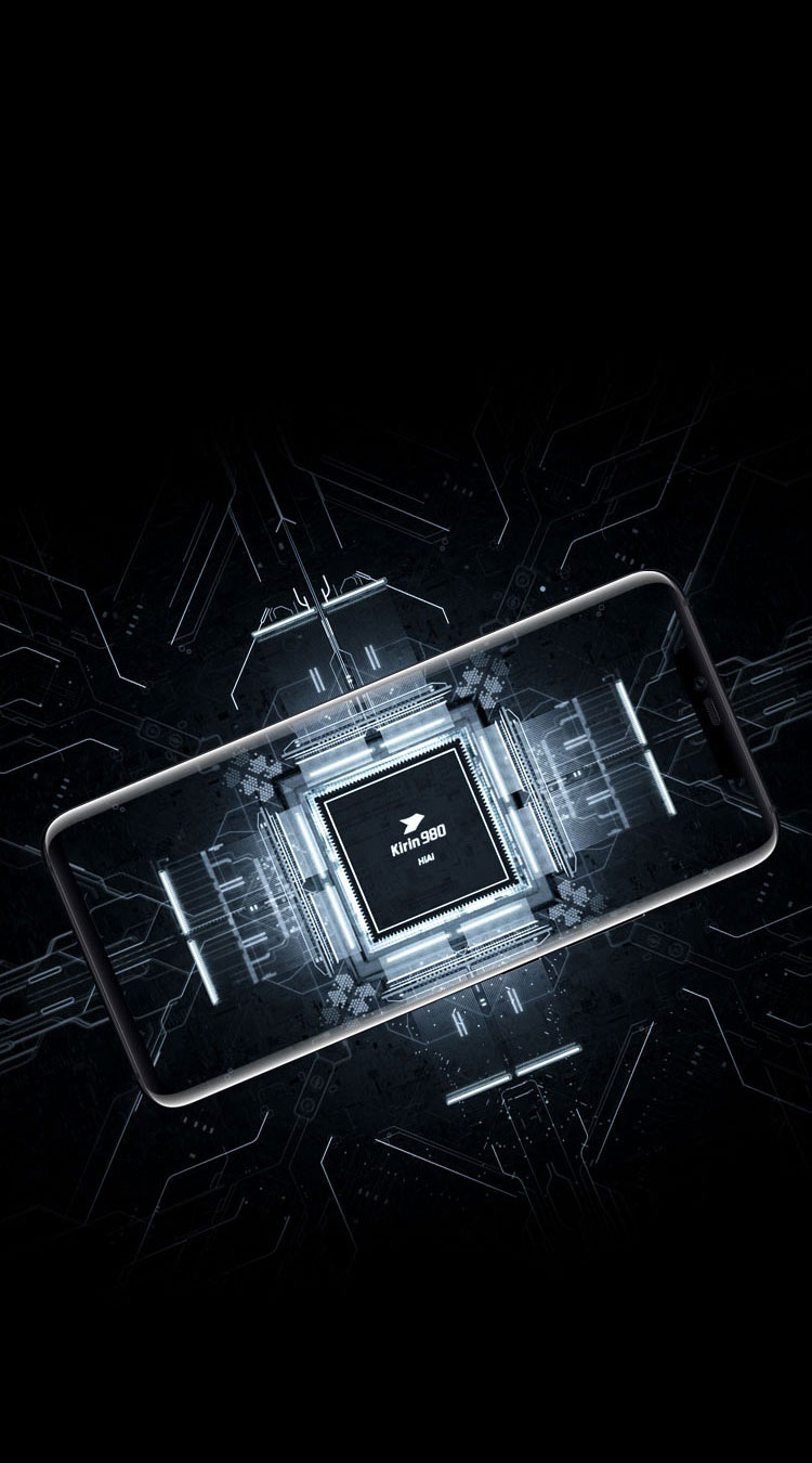 PORSCHE DESIGN HUAWEI Mate 20 RS 7nm process kirin 980 chip with dual NPU