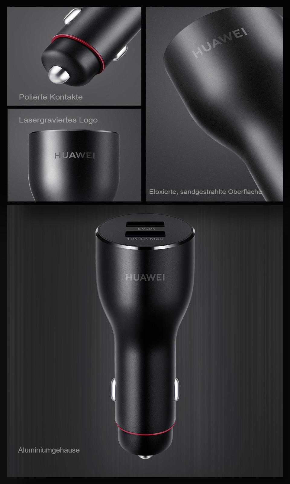 HUAWEI SuperCharge™ KFZ Ladegerät 2, KFZ Ladegerät mit zwei