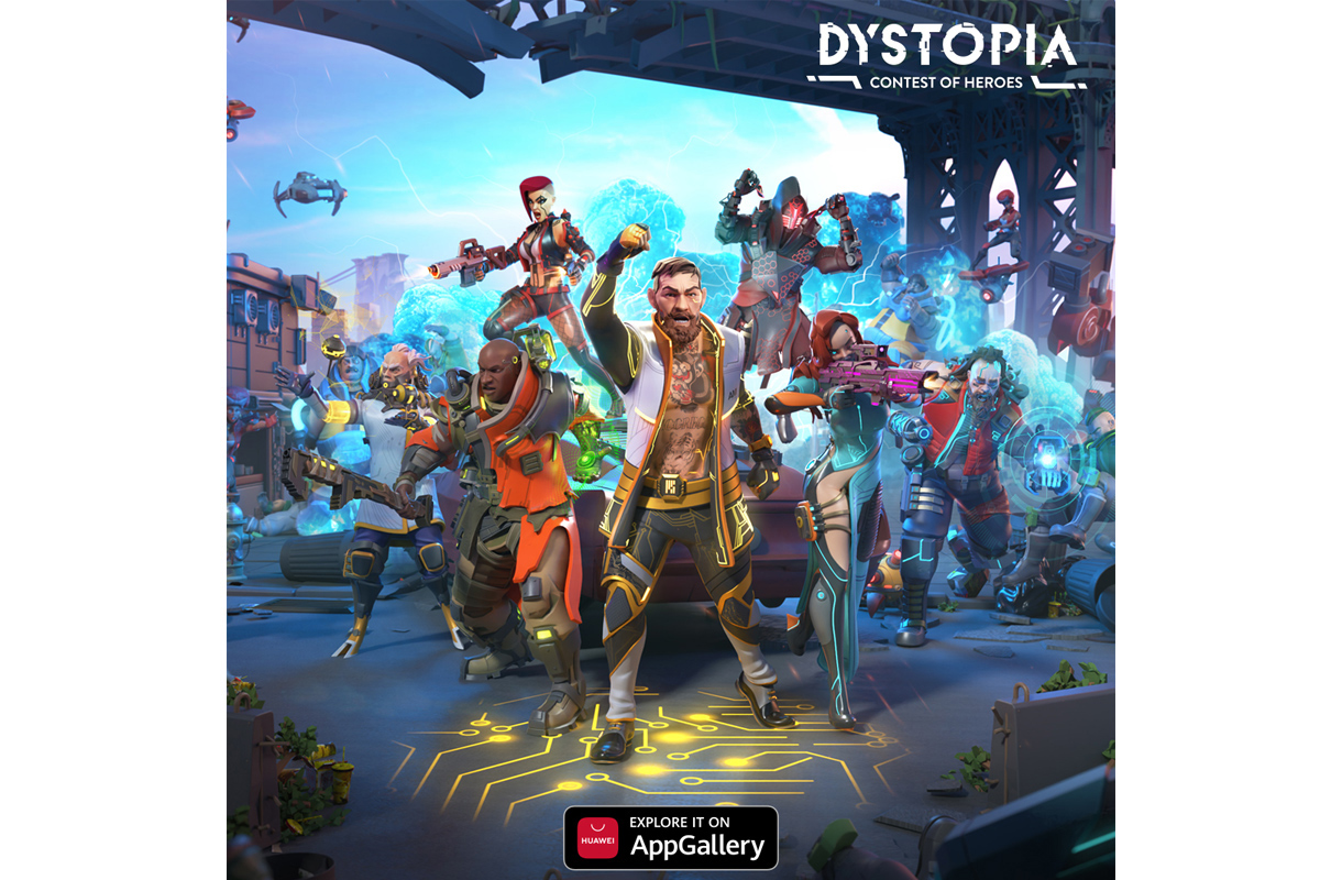 Hra Dystopia: Contest of Heroes s Conorem McGregorem vychází v HUAWEI AppGallery