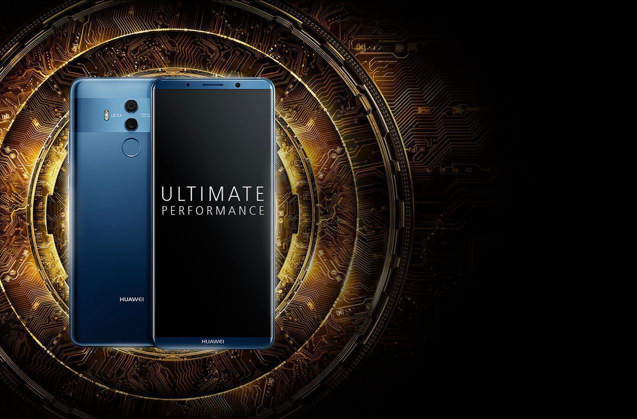 HUAWEI Mate 10 Pro big screen and dual camera