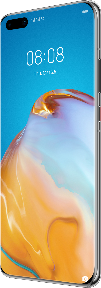 HUAWEI P40 Pro Silver Frost Front