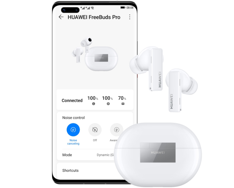 HUAWEI AI Life Headphone UI