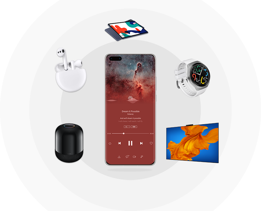HUAWEI Music Cross-device Streaming