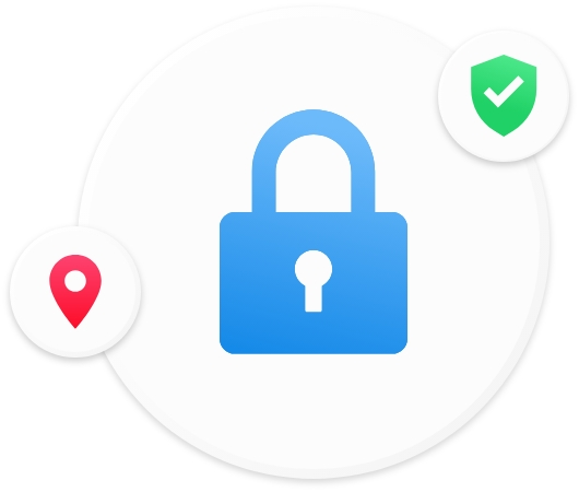 This is a lock icon, showing how Petal Maps protects user privacy.