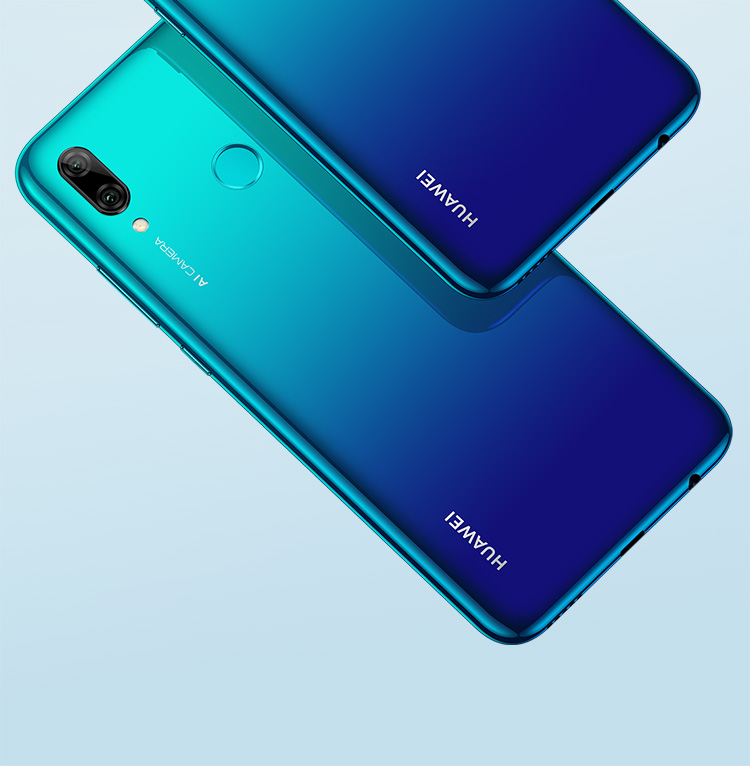 HUAWEI P smart 2019 curved back