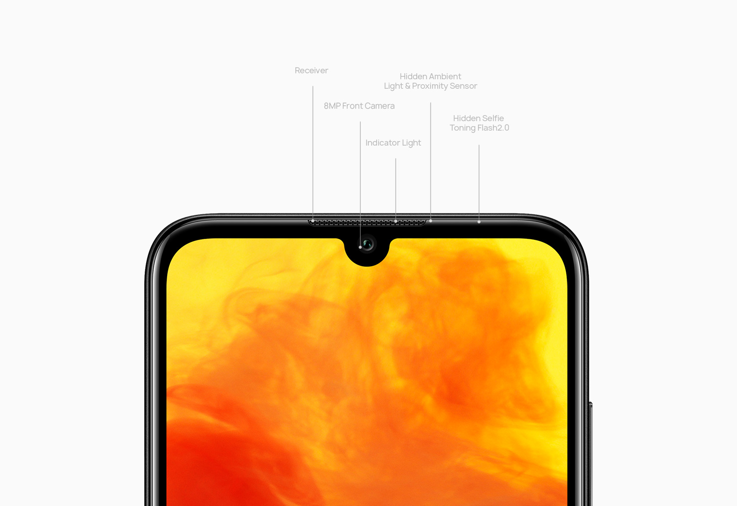 HUAWEI Y6 Prime 2019 Dewdrop Display