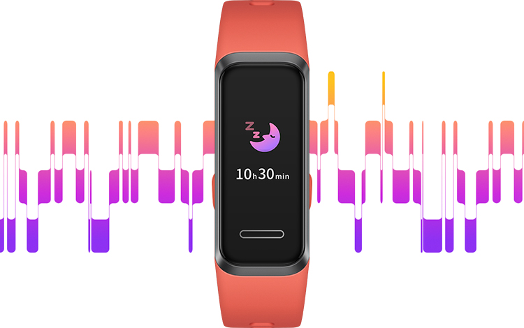 HUAWEI Band 4 TruSleep™ 2.0 Sleeping Monitoring