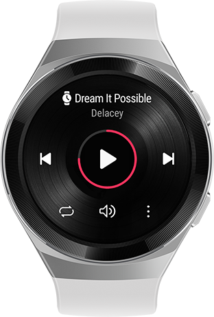 HUAWEI WATCH GT 2e Offline music playback